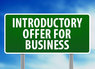 introductory business offer